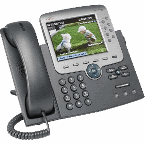 CISCO unified IP phones using VoIP or voice over IP