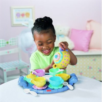 Tea set for children from Fisher Price