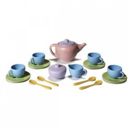 Green Toys tea set for children