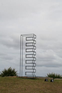 Art by the sea sculpture