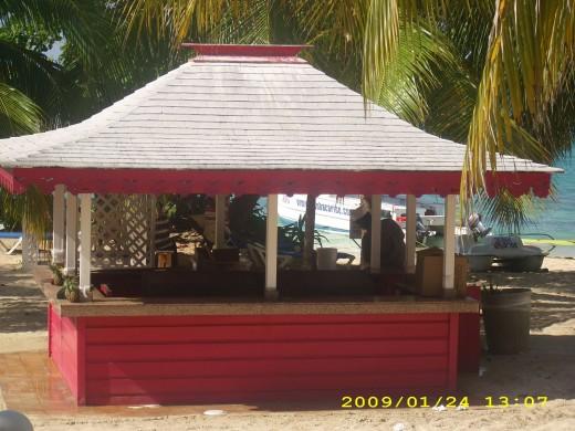 Jerk Hut at the resort