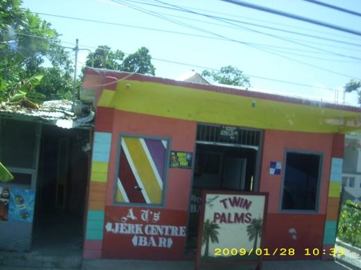 A bar in Jamaica
