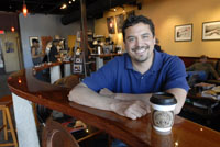 Jonathan Stratton of Scarborough, Maine, used microfinance to launch his FairTrade coffee business.