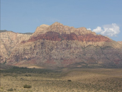 red rock canyon panaromic pic