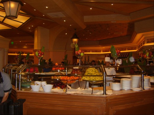 Bellagio buffet pic