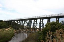 Trestle Bridge at Kilcunda, gateway to Paradise
