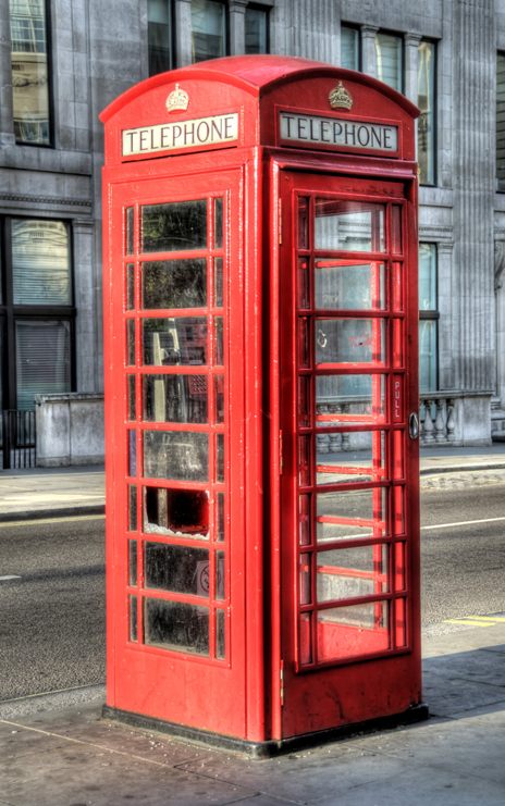 Lesson 1 : This is a Telephone Booth not a Photo Booth!