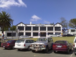 Historical Isle of Wright Hotel located in Cowes on Phillip Island