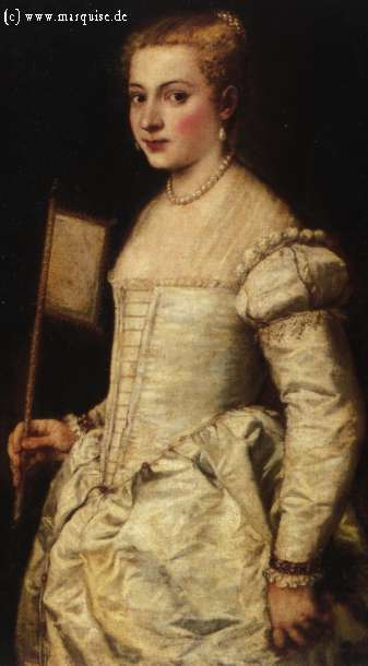 All women wore corsets in this style in the renaissance! I think it makes their silhouettes look lovely!