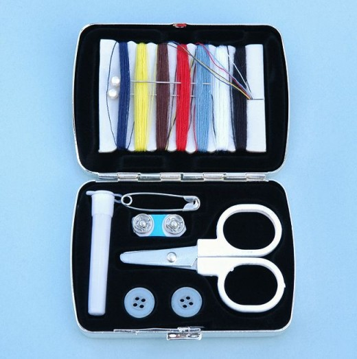 A useful sewing kit!