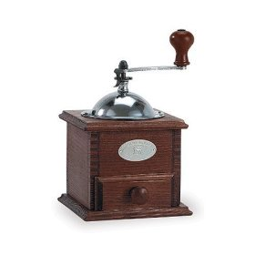 Old fashioned manual coffee grinder