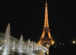 The bright lights of Paris