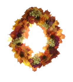 Make Your Own Thanksgiving Wreath: Inexpensive and Easy!