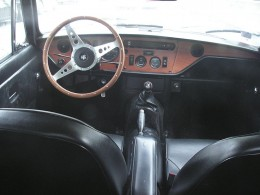Triumph GT6 interior via Wikimedia Commons. CC-A-SA-3.0.