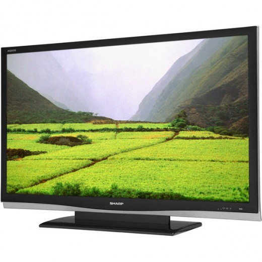 65-inch Sharp Aquos LCD TV