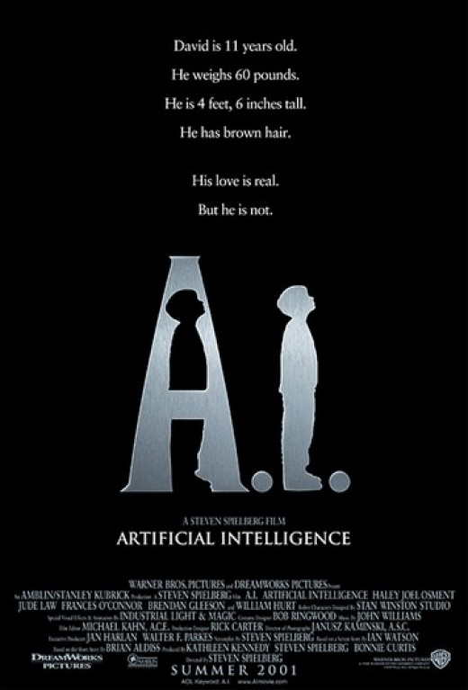 In A.I., the story focuses on a young robot boy who tries to act human. Could technology actually grow jealous of humanity?