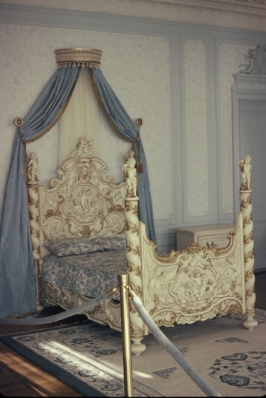 Lady Mary Pellatt's Bed
