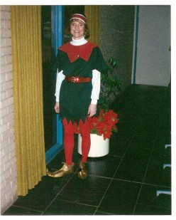 Leasing isn't all about just leasing. Marketing at Christmas time set me up in an elf costume.
