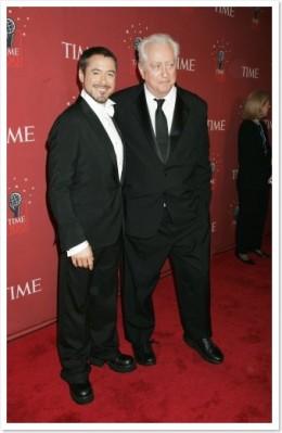 Robert Downey Jr. & Sr.  Photo courtesy of splendcity.com