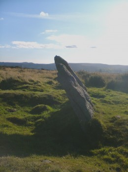 The largest rock in the circle