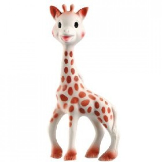 Sophie the giraffe baby teether