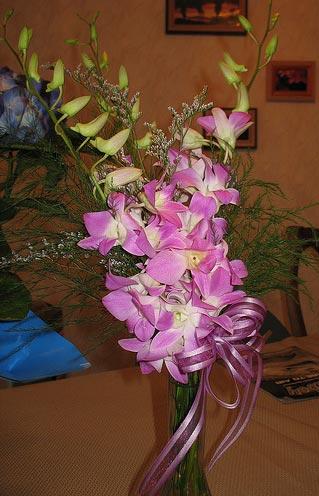 "Flickr image: rfduck- ""Purple Flower Bouquet"""