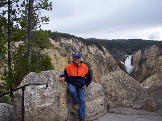 Me in Yellowstone June 2009 Total weight loss 31 pounds, 10 jean sizes.