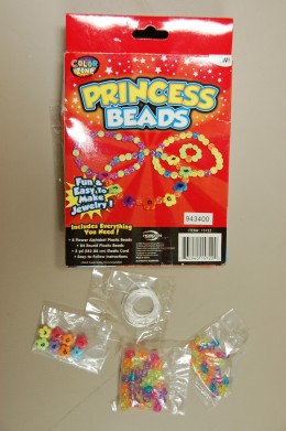 Princess Beads Necklace kit.