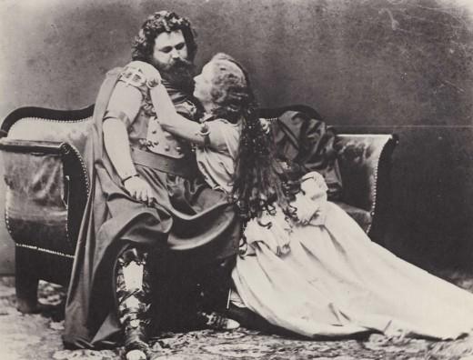 Ludwig und Malwine Schnorr von Carolsfeld - Tristan und Isolde, 1865