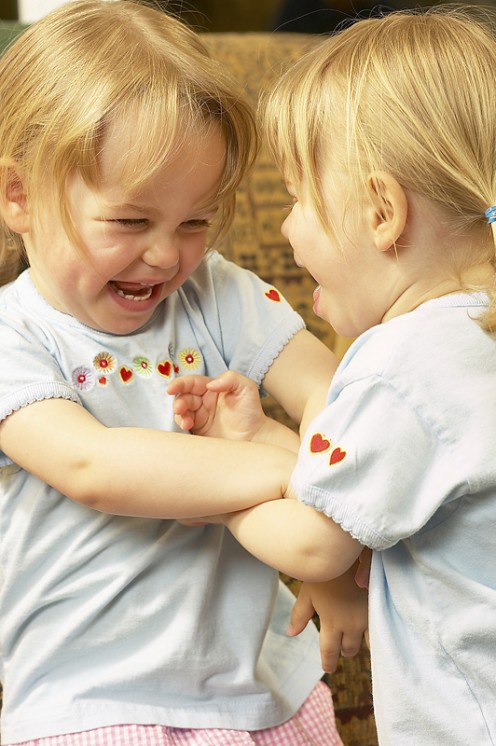 Sibling rivalry can make family life stressful day after day.