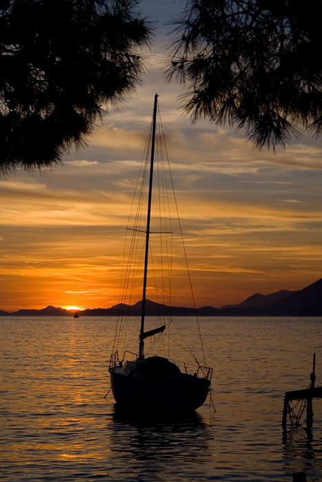One of my dreams is to sail around the world while writing a novel about my adventures...