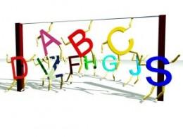 Learning the ABCs. Image by S.R. Bichara (http://www.sxc.hu/profile/srbichara)