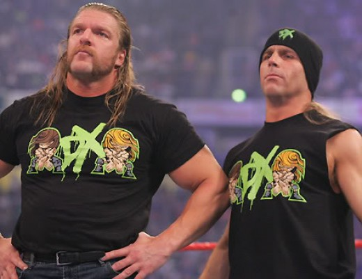 DX-Triple H & Shawn Michaels