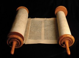 A Medieval Hebrew Torah scroll. Credit: The Museum of Idaho