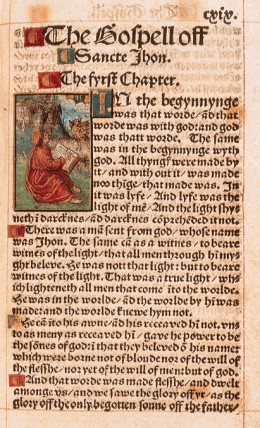 William Tyndale's Bible (Credit: Google Images)