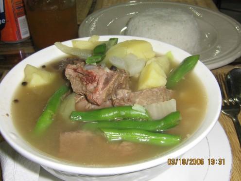Beef Nilaga with Spareribs