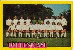 102 Tottenham Hotspur Team