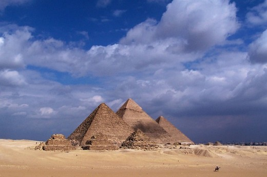 Another view of The Great Pyramid of Giza
