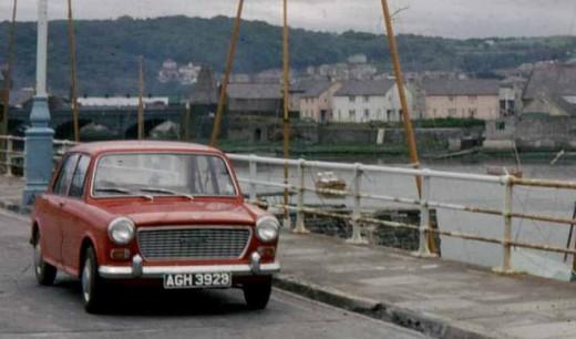 My parent's Austin 1100 in Aberytswyth