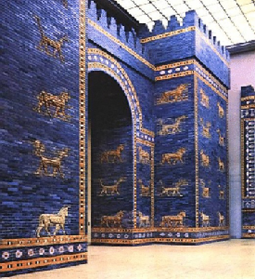 The Ishtar Gate was once one of the seven wonders of the ancient world until it was replaced by The Pharos of Alexandria or simply known as The Lighthouse of Alexandria