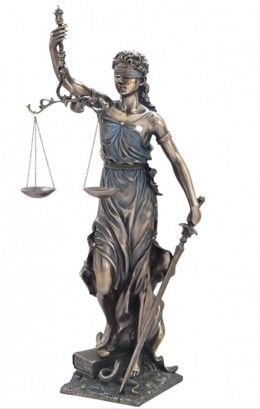 "Themis, the Greek goddess of divine justice. An image of Themis adorns many federal courts today. Do images of Themis on federal property constitute an ""establishment of religion""?"