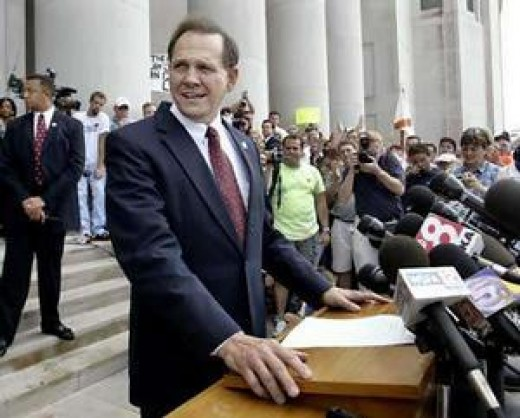 Roy Moore, the former Chief Justice of the Alabama Supreme Court, is making a run for his old office in 2012.