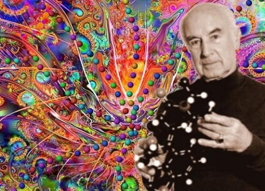 """Albert Hoffman, the """"father"""" of LSD."""