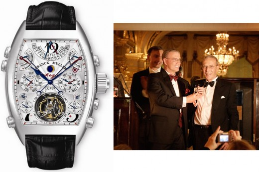 Most Expensive Watch in the World - Franck Muller Aeternitas Mega 4 - with owner Michael Gould