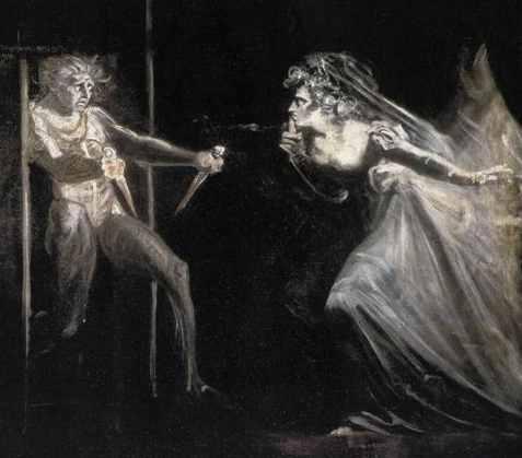 Lady Macbeth with daggers, by Fuseli