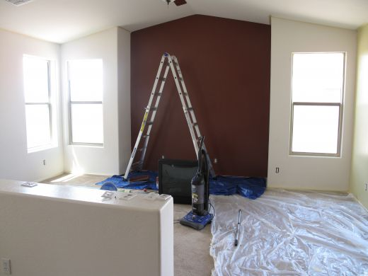 Painting one room is inexpensive, but painting every room in the house isn't.