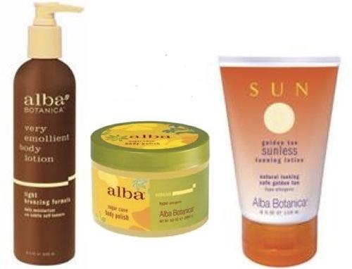 Alba Skincare Products