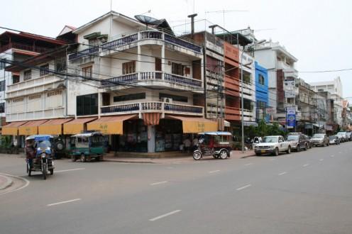 Street corner Vientiane