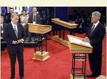 Bob Dole and Bill Clinton Debate 1996
