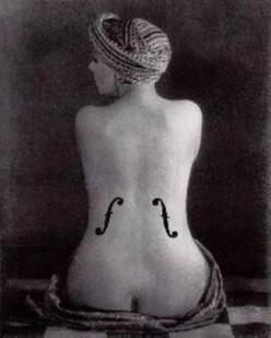 Man Ray - Viola
